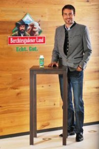 Bernhard Pointner, Geschäftsführer der Molkerei Berchtesgadener Land.