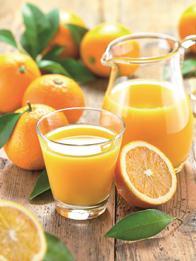 Ein Highlight bei L & D in Hamburg ist der frisch gepresste Orangensaft. Foto: cut/Fotolia.com