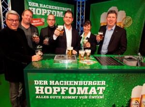 Hachenburger Brauerei führt weltweit als erste Brauerei neues Zapfsystem mit Gläsern ein