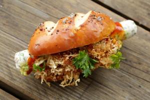 Matjesmeisterschaft  Gewinner Frankfurter Matjes Hotdog