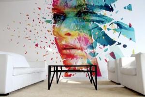 Modern, frisch, futuristisch - klare Linien mit einzelnen Eye-Catchern