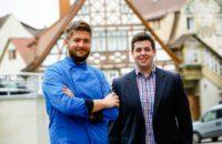 Benjamin Maerz links, Christian Maerz rechts