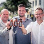 Die Gründer der smak concept Gmbh - v.l.n.r. Thorsten Preis, Björn Hille, Holger Post