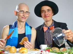 ANA & ANDA backen Genuss-Gebäcke ohne Zucker und Fett