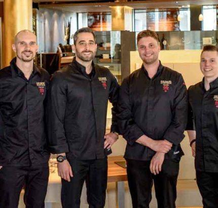 Team vom Goldberg Restaurant & Winelounge (Foto: Rauschenberger Catering & Restaurants)
