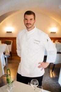 Florian Vogel freut sich über die Anerkennung vom Gault Millau