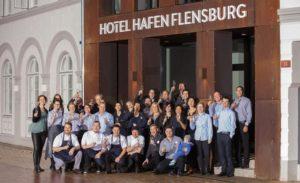 Eröffnung des Hotel Hafen Flensburg. Quelle: Hotel Hafen Flensburg