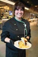 Küchenchefin Daniela Krakow