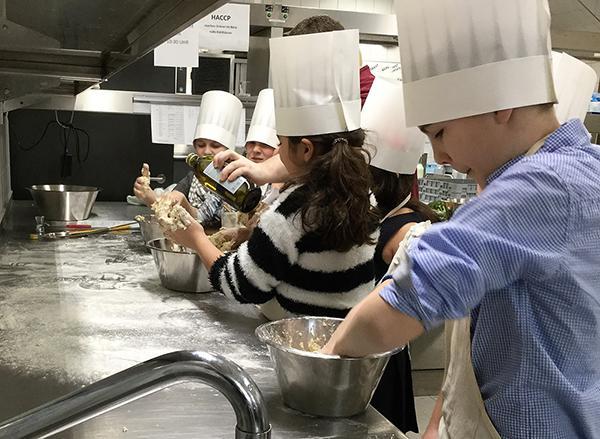 Kinder Kochen gesund