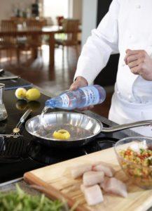 Kochen mit mineralwasser