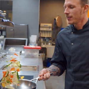 Küchenchef Michael Gruber