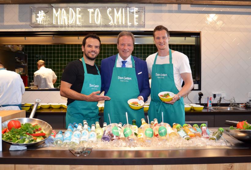 """Marcell Jansen und Steffen Henssler eröffnen erstes """"Ben Green""""-Restaurant"""