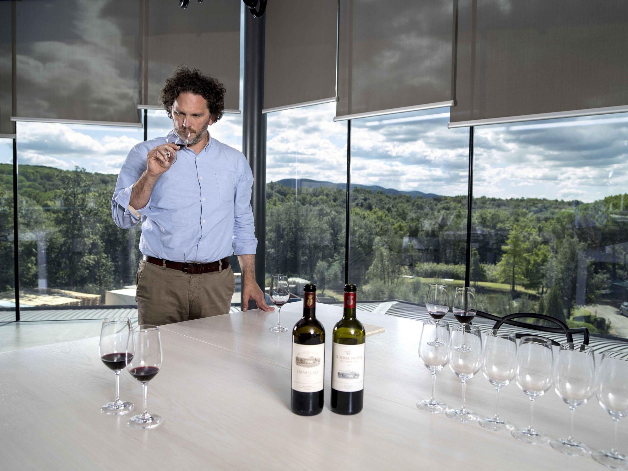 Axel Heinz Ornellaia Estate Director and winemaker