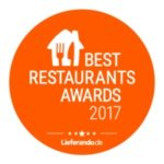 BEST RESTAURANT AWARD 2017