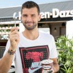 Tennisstar Grigor Dimitrow