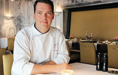 Küchenchef David Krüger