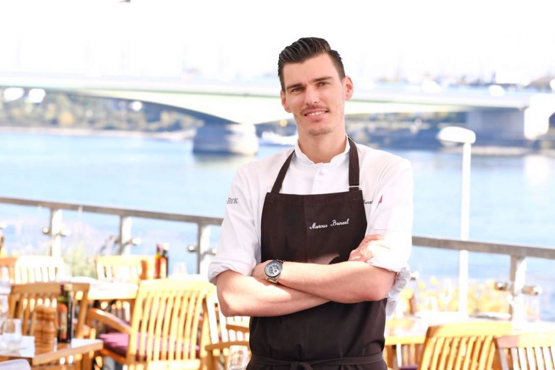Küchenchef Marcus Bunzel
