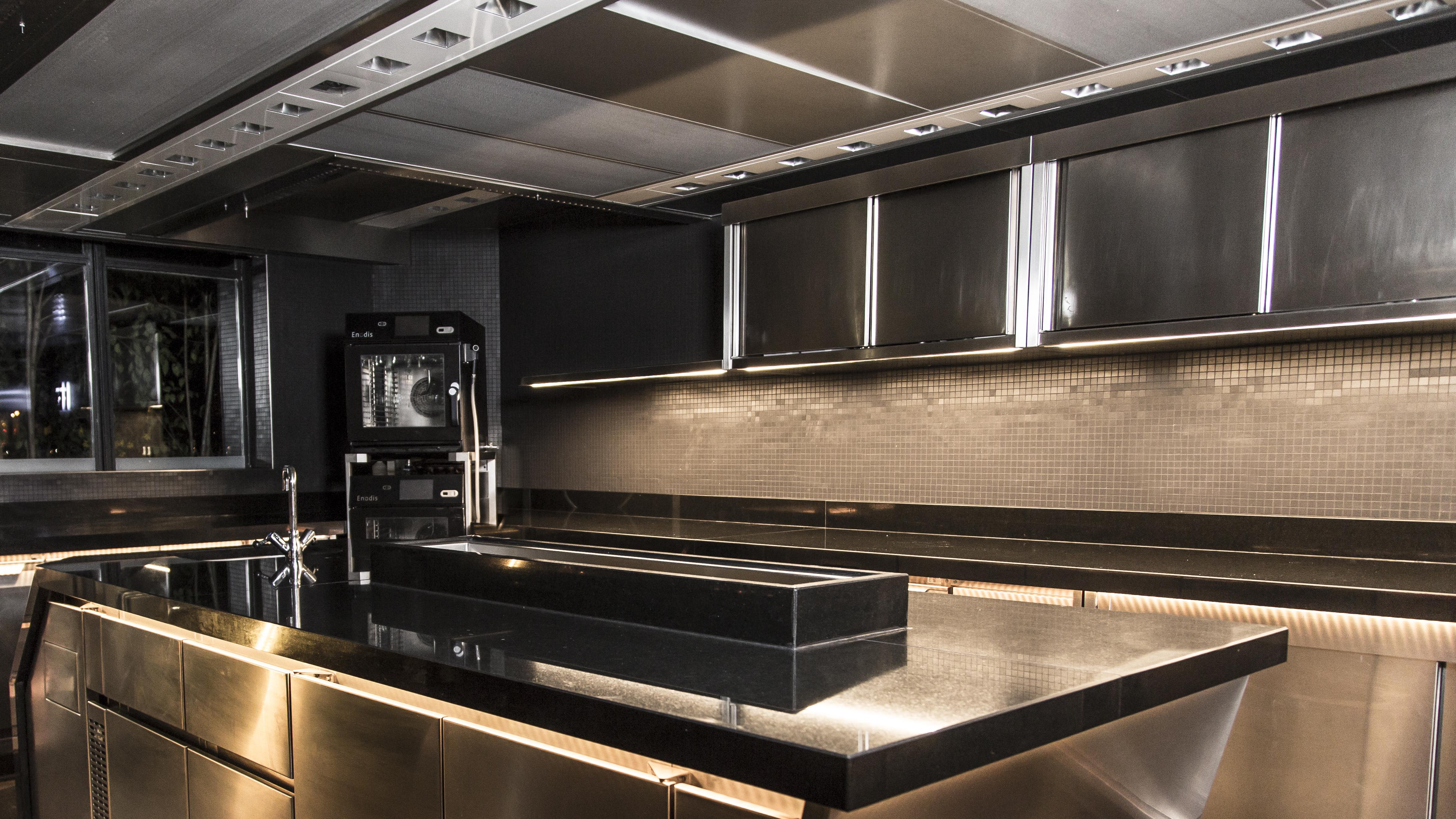 Küche Pavillon Ledoyen