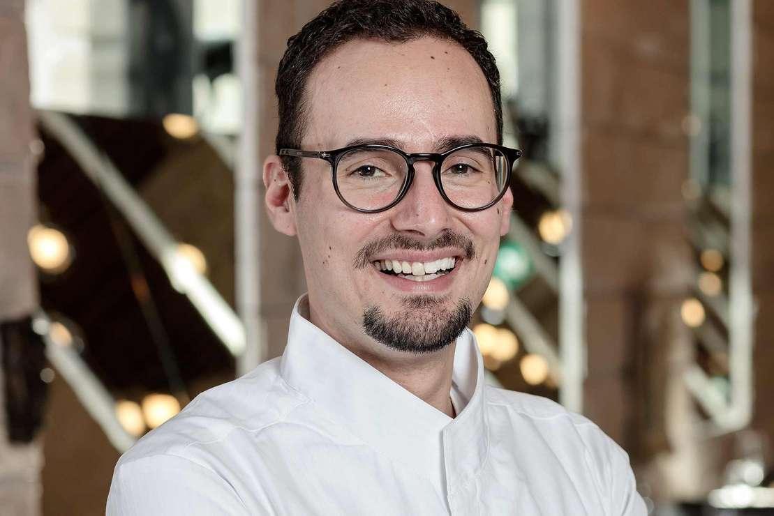 Küchenchef Giuseppe D'Errico
