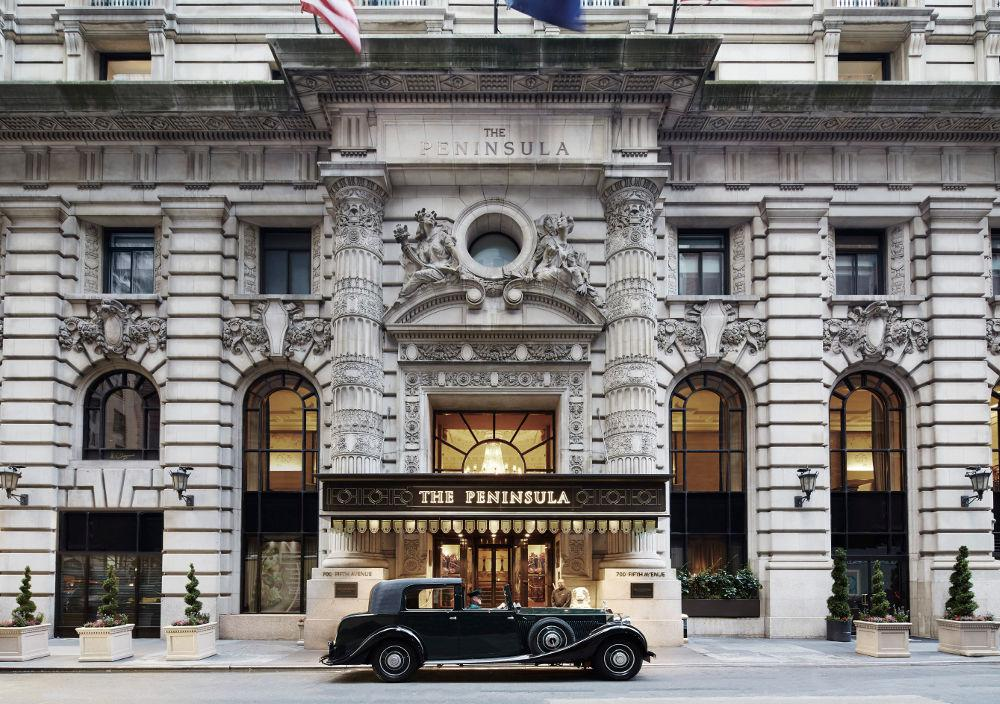The Peninsula New York, ein Jugendstil-Juwel im Herzen Manhattans