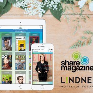 sharemagazines checkt in Lindner Hotels ein