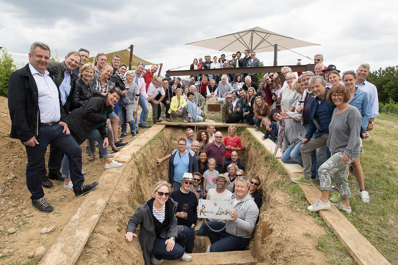 Die Ausgrabung der Rauen Liebe (Bildquelle: (c) Sebastian Philipp)