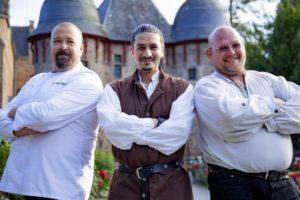 Gastronomen, Burg Satzvey, Eifel