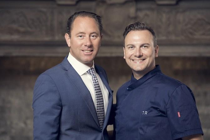 Heinz Hunkeler und Tim Raue
