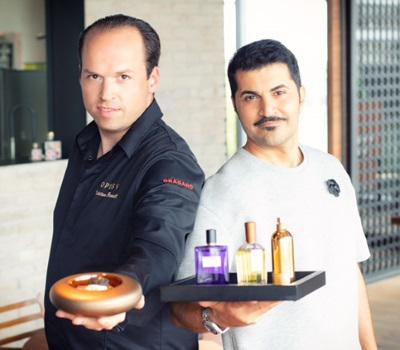 Tristan Brandt (links) und Reza Shari. Foto: Daniel Gold.