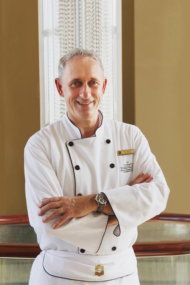 Paul Wieser ist neuer Küchenchef in Maskat