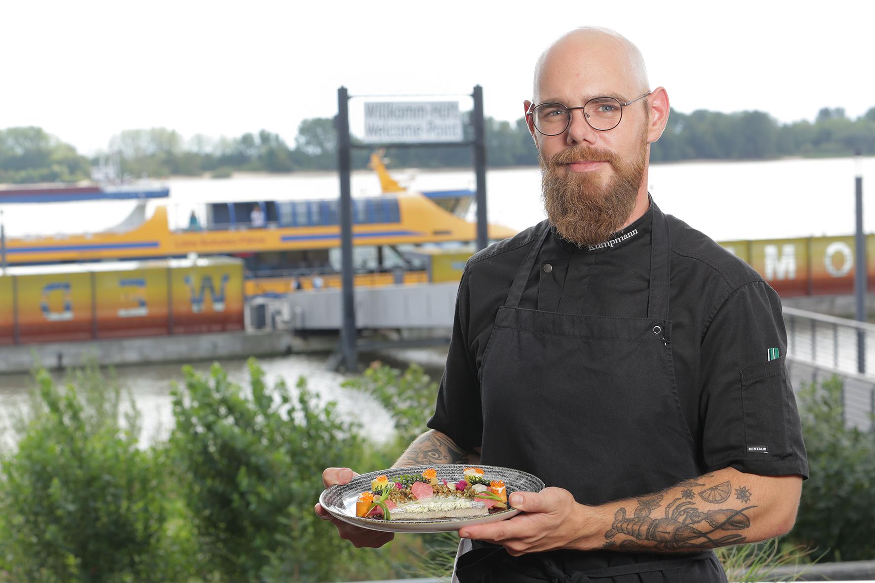 Sebastian Kumpmann, Küchenchef vom Schulauer Fährhaus
