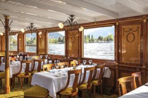 Restaurant im Grand Hôtel des Rasses