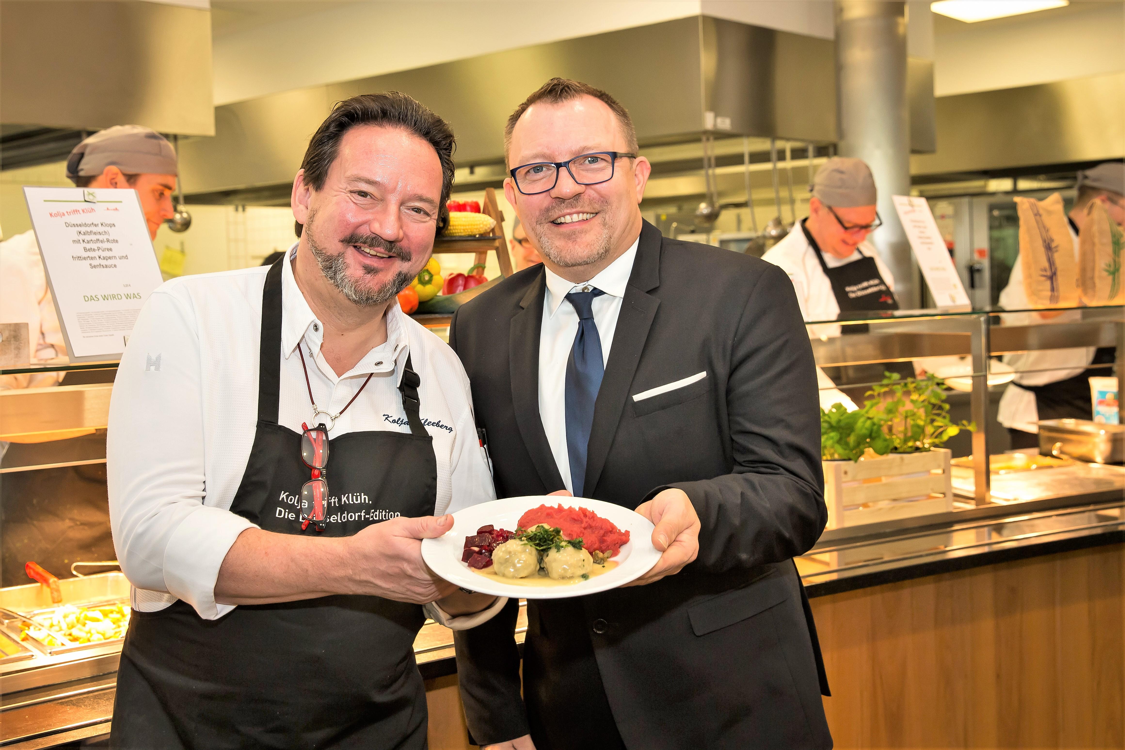 Klüh Catering Kolja Kleeberg