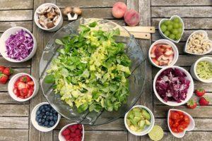 Frischer Salatteller