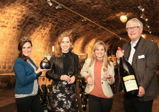 Deutsche Weinhoheiten in Franken 2019