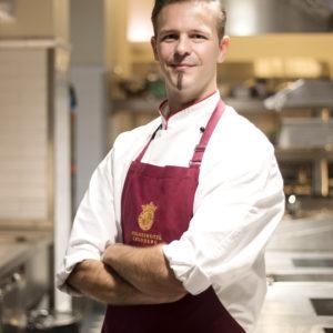Küchenchef Christoph Hesse