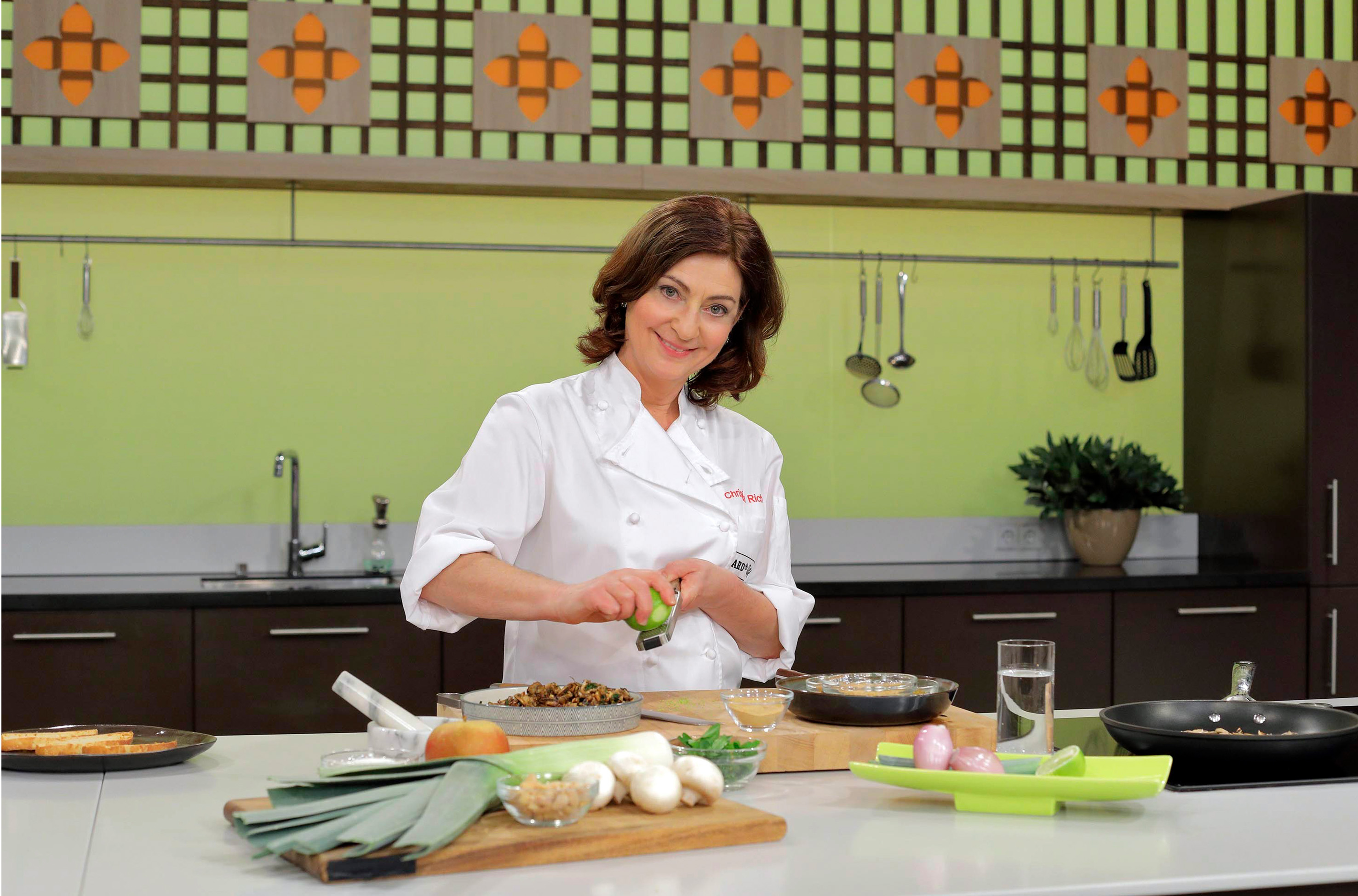 ARD Buffet Köchin Christina Richon