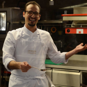 Chefkoch Giuseppe D'Errico