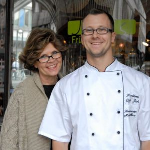 Wilma Moos mit Michael Moos aus dem Café Jäck