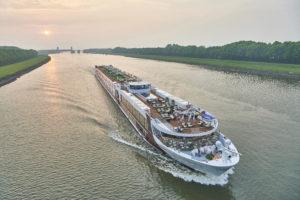 Flussschiff zum Sternerestaurant