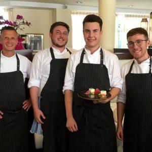 Kochlehrlinge Gourmetrestaurant Aubergine