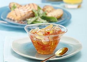 Fruchtige Saucen, Dips und Marinaden – natürlich mit Saft!