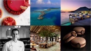 Harrods Chefpatissier Alistair Birt auf Vakkaru Maldives
