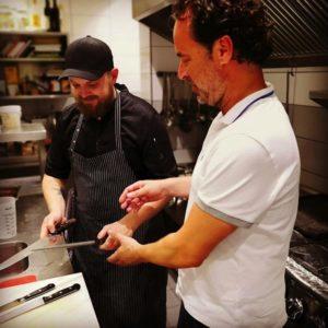 Mark Podschadly bei den Experten in der Küche