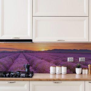 Küchen Poster Lavendel