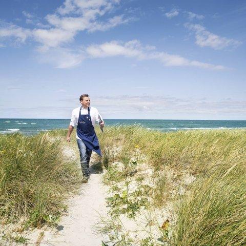 Pierre Nippkow Küchenchef der Ostseelounge (c) strandhotel-fischland.de