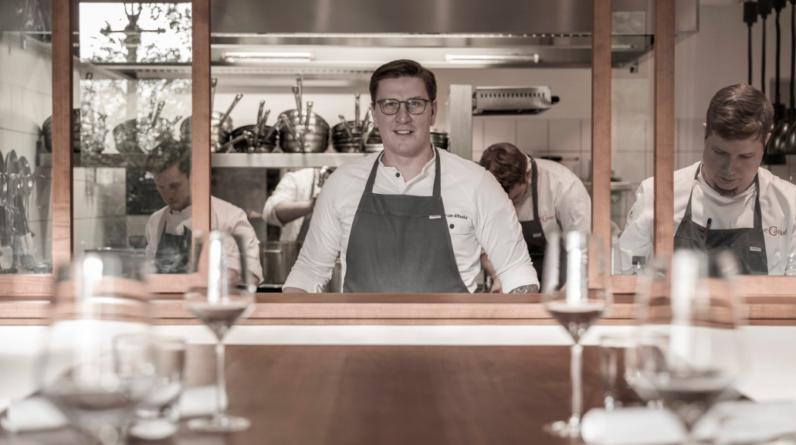 Küchenchef Norman Etzold
