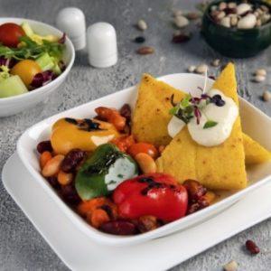 Emirates: Neue vegane Menü-Option an Bord im Januar