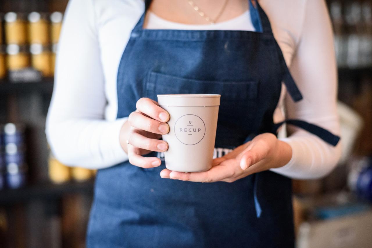 Coffee-to-go mit gutem Gewissen im aja Travemünde