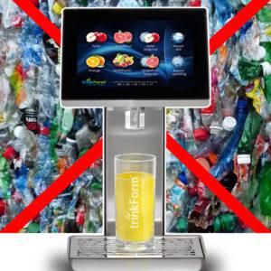 Getränkesysteme entlasten die Umwelt